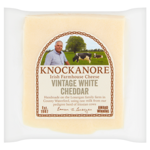 KNOCKANORE VINTAGE WHITE CHEDDAR