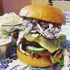 Organic Vegetarian Burger