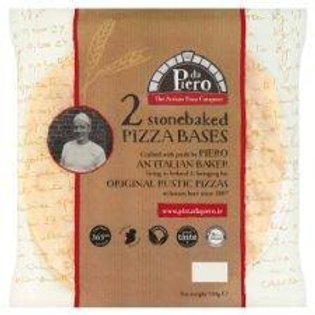 PIZZA DE PIERO BASES X 2