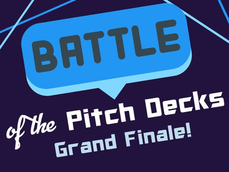 Battle of the Pitch Decks Grand Finale 2021