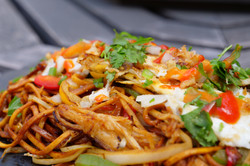 Chow-Mein Up Close