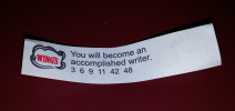 If it is in a Fortune Cookie, It Must be True!