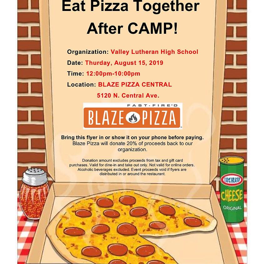 Blaze Pizza Fundraiser