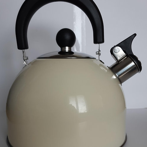 Whistling Kettle with Folding Handle 2L