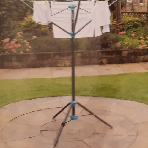 3 Arm Portable Free Standing Rotary Airer