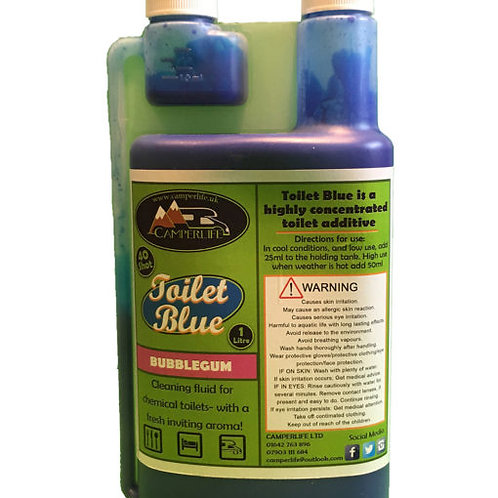 Bubblegum – Multi Scented Toilet Blue