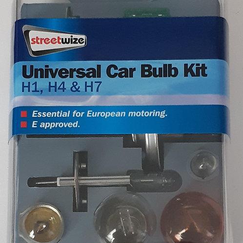 Streetwize Universal Car Bulb Kit