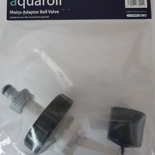 Aquaroll Mains Adaptor Ball Valve