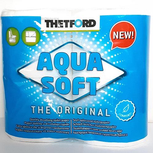 Thetford New Aquasoft Toilet Rolls 4pk