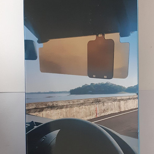 Streetwize Anti-Glare Sun Visor with Slider