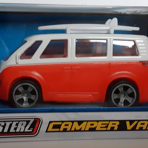 Teamsterz Camper Van Red