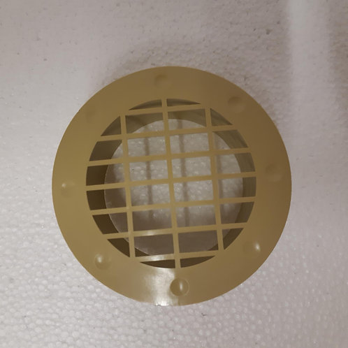 Fixed Fitting Vent - Beige