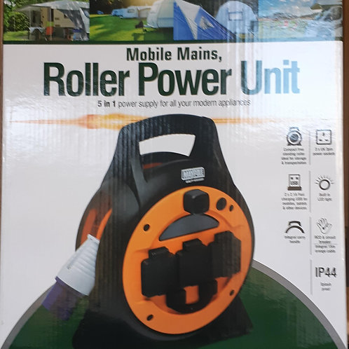 Maypole Mobile Mains Roller Power Unit