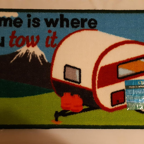 Home is Where You Tow It (Caravan) Mat
