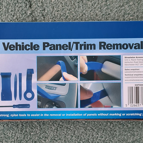 Streetwize 8pce Vehicle Panel & Trim Remover Kit