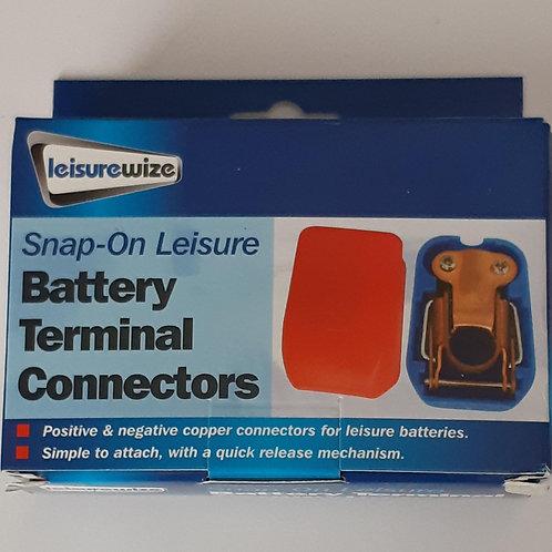 Leisurewize Snap-on Battery Terminal Connectors