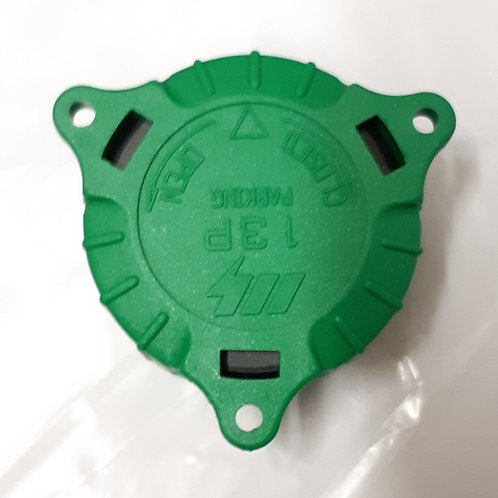 Alignment and Storage Green Cap for 8/13 Pin Plug