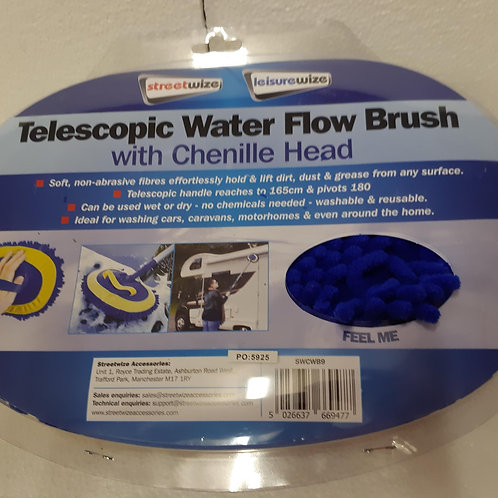 Duo Flow Through Brush with Chenille Head