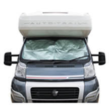 Internal Thermal Blind (inc Suckers) Fits Fiat Ducato 2006 onwards