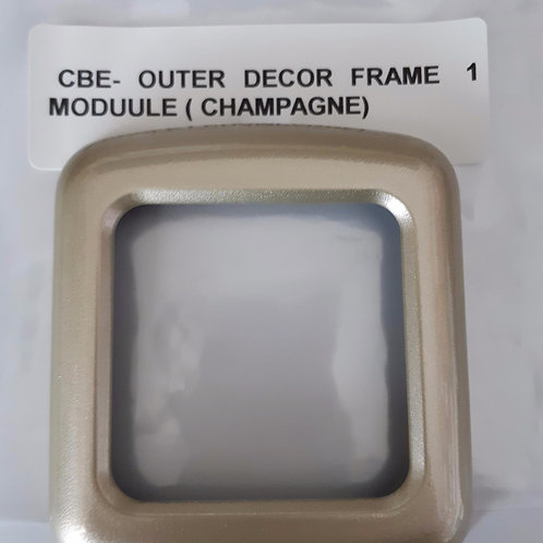 CBE Single Module Outer Frame Decor - Champagne
