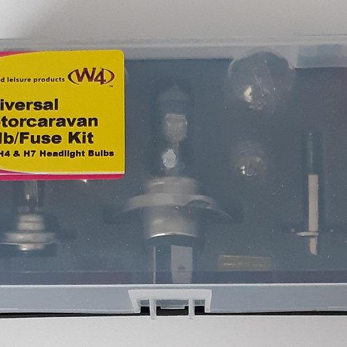 W4 Universal Motorcaravan Bulb/Fuse Kit