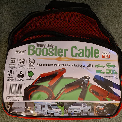 Maypole Heavy Duty Booster Cables MP3525