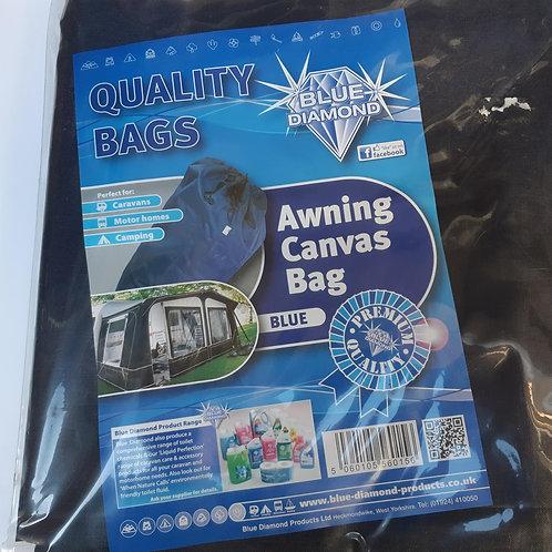 Blue Diamond Canvas Awning Bag