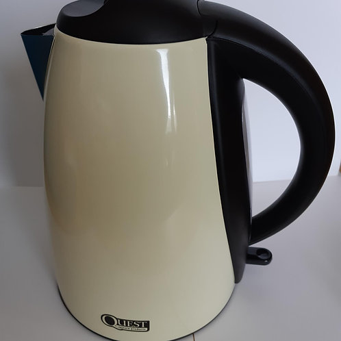 Cordless Stainless Steel Kettle 1.8L (Cream)