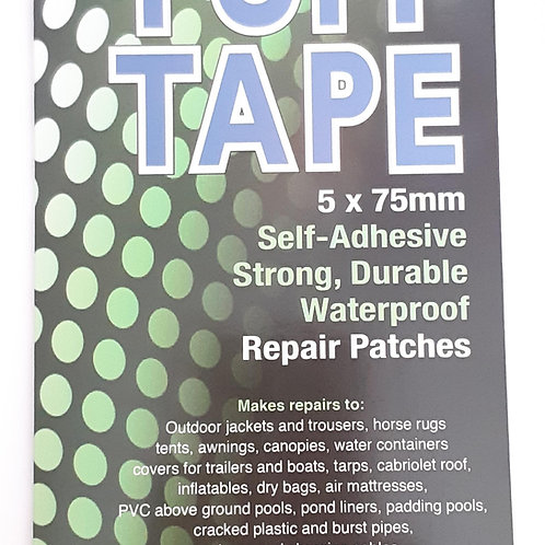Stormsure Tuff Tape 5 x 75mm Repair Patches