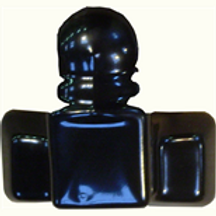 Black Rubber Tow ball Cover