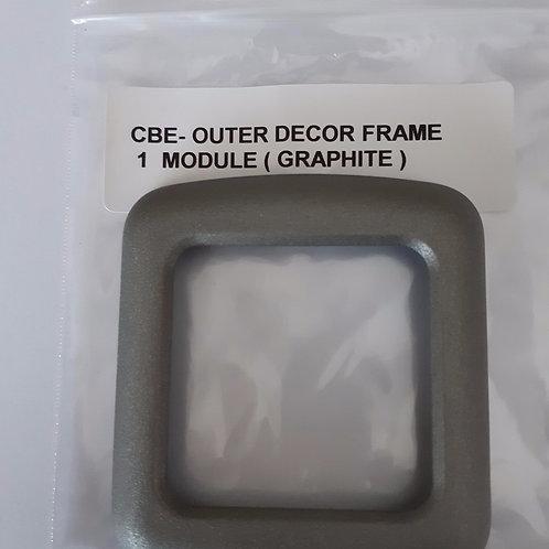 CBE Single Module Outer Frame - Graphite