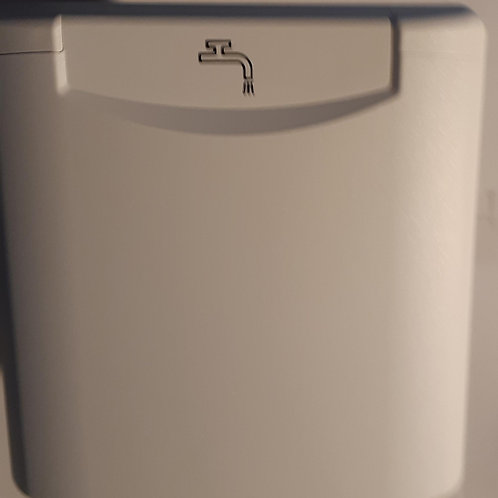FAWO Water Filler c/w Magnetic Lock - White