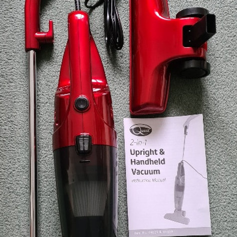Quest Upright & Handheld Vacuum