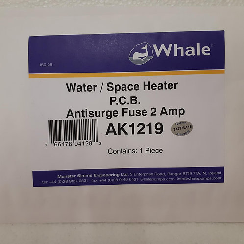 Whale Space/Water Heater PCB 2A Fuse