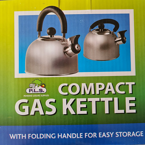 PLS Chrome 1.6L Gas Hob Kettle