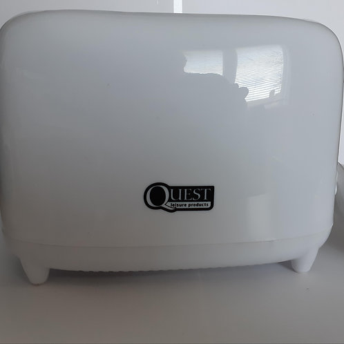 Low Wattage 2 Slice Toaster (White)