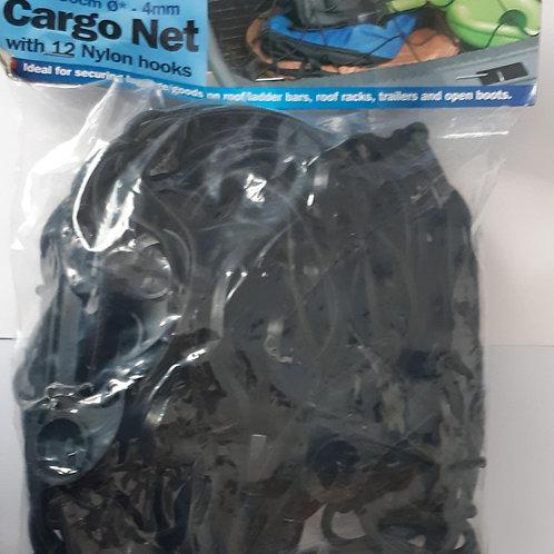Streetwize Cargo Net 90 x 130cm with 12 Nylon Hooks