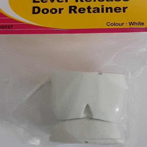 W4 Lever Release Barrel Door Retainer - White - 00067