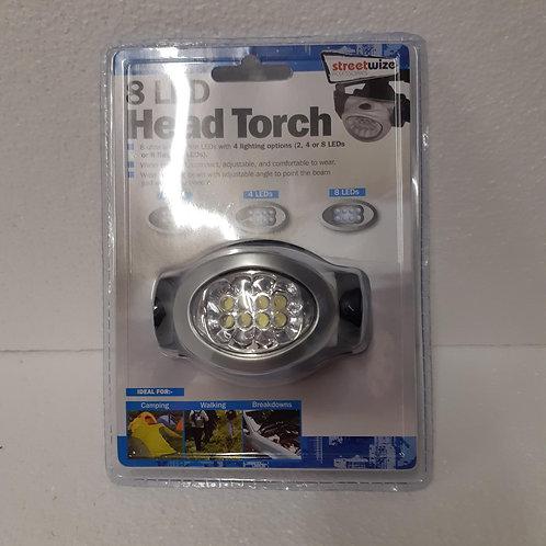 8 LED Head Torch