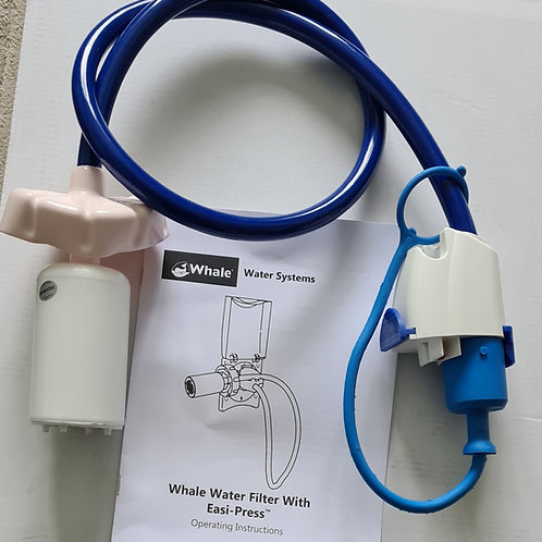 Whale Filter with Easi Press Plug