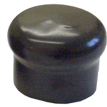 Black Rubber Electrical socket cover