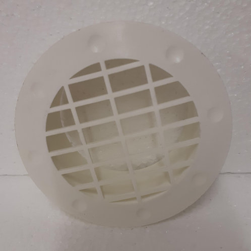 Fixed Fitted Vent - White