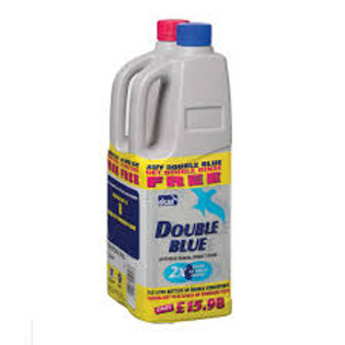 Elsan Double concentrated Blue and Rinse 2lt