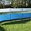 Thumbnail: 500 x 140mm Polyester Wind Break - Blue