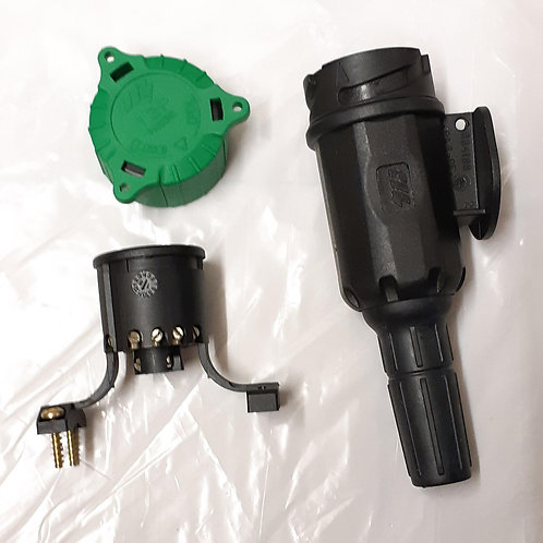 12V 13 Pin Menbers Euro Plug (15mm grommet)