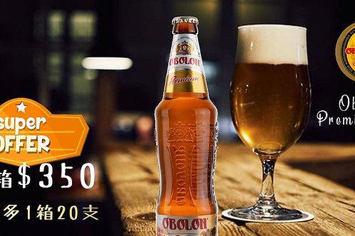 UKB001 Ukraine Obolon Premium Beer 500ml X60