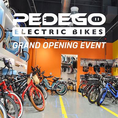 PEDEGO GRAND OPENING