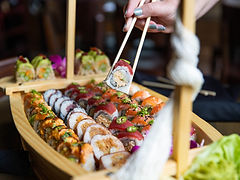 NEW SUSHI RESTAURANT AND SAKE GRILL SLICES INTO COOL HEIGHTS DEVELOPMENT