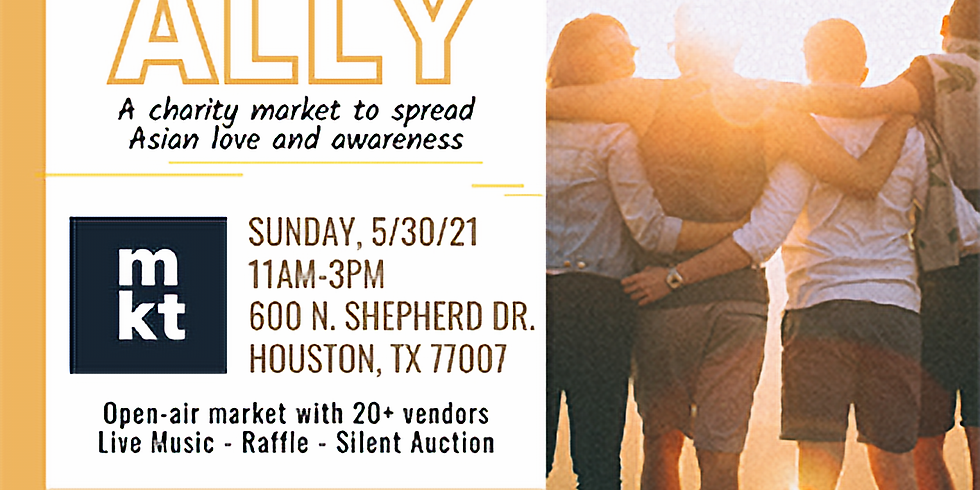 Be An Ally Charity Market