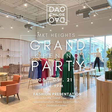 CHLOE DAO GRAND OPENING PARTY